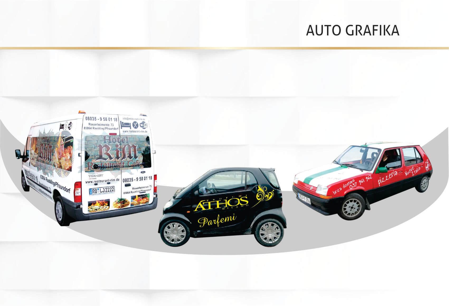 Auto grafika